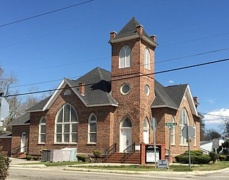 Marion County, South Carolina - Image: Mt. Olive Baptist Church, 301 Church St., Mullins, South Carolina