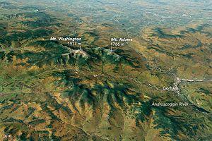 Presidential Range - Image: Mt washington satfoto 2014