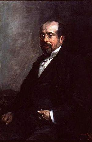 Antonio Muñoz Degrain - Antonio Muñoz Degrain; portrait by Joaquín Sorolla (c.1898)