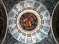 """Mural """"Hombre en llamas"""", magnifica composición para la cúpula del Hospicio Cabañas.jpg"""