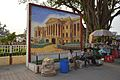 Mural Hazarduari Palace - Murshidabad Railway Station Area - Murshidabad 2017-03-28 6585.JPG