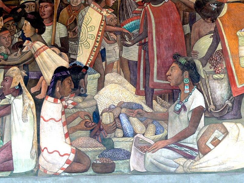 File:Murales Rivera - Markt in Tlatelolco 2.jpg