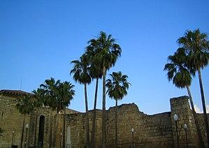 Alcazaba of Mérida - Image: Murallas del Alcazaba de Merida