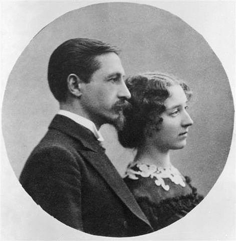 И. А. Бунин и В. Н. Муромцева