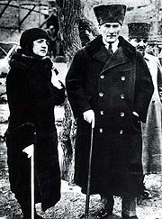 Mustafa Kemal Atatürk and Latife Uşşaki (1923)