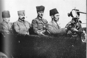 Mustafa Kemal and his staff enter Smyrna on 10 September 1922