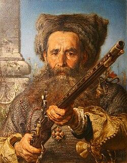 Muzeum Śląskie - Jan Matejko - Ostatni Daszkiewicz 02.jpg