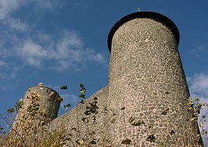 Nürburgring - Tower of the Nürburg castle