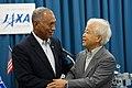 NASA Administrator Bolden with JAXA President Okumura in Tokyo (9815106104).jpg
