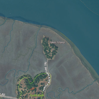 Jakes Island Island in California