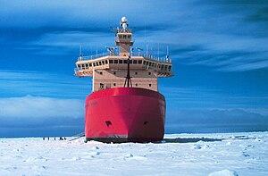 Nathaniel B. Palmer (icebreaker) - Image: NATHANIEL B. PALMER 1998