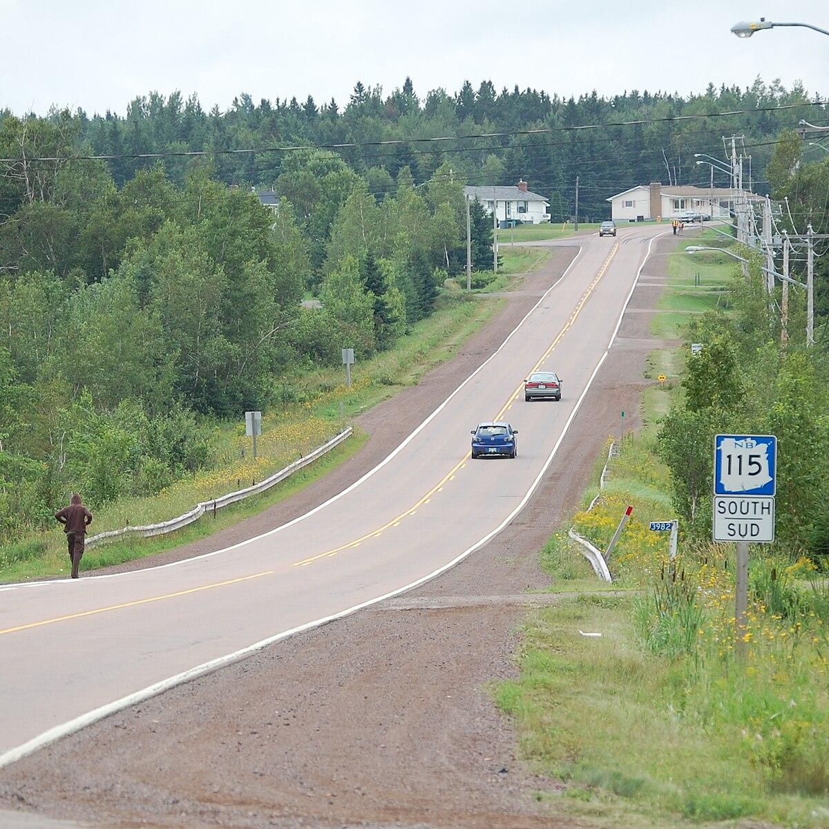 New Brunswick Route 115