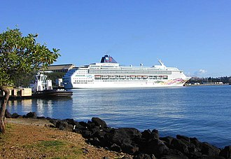 Norwegian Sky - Pride of Aloha in Kauai, Hawaii.