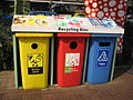 NEA recycling bins, Orchard Road.JPG