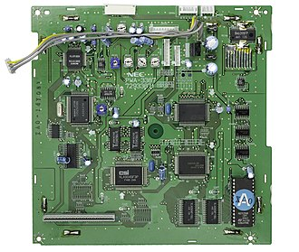 PC-FX - Image: NEC PC FX Daughterboard Flat