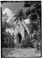 NORTH FRONT - Lunalilo's Tomb, Punchbowl and King Streets (Kawaiahao Churchyard), Honolulu, Honolulu County, HI HABS HI,2-HONLU,16-2.tif