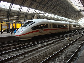 NS International - Image: NS ICE 4651 at Amsterdam Centraal a
