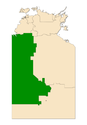Electoral division of Stuart - Stuart in the Northern Territory