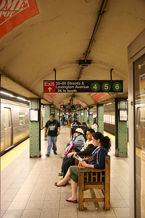 Lexington Avenue/59th Street (New York City Subway) - Platform view
