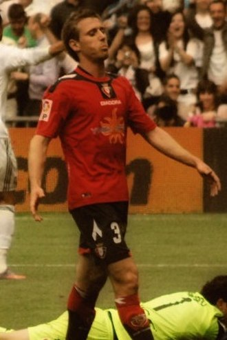 Nacho Monreal - Monreal in action for Osasuna in 2010
