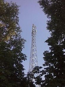 maszt kratowy GSM