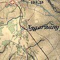 Nagórzany-Bergdorf bei Sanok Franzisco-Josephinische Landesaufnahme (1806-1869).jpg