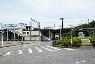 Kami Noma Station railway station in Mihama, Chita district, Aichi prefecture, Japan