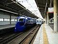Nankai Tengachaya Station platform - panoramio (3).jpg