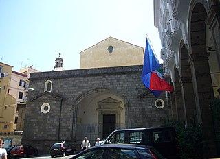 Church in Campania, Italy