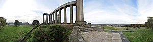 National Monument of Scotland - Image: National Monument 360° Panorama, Calton Hill, Edinburgh