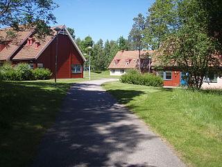 Svenljunga Place in Västergötland, Sweden