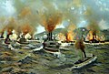 Naval battle at Santiago, Cuba, Spanish-American War, July 3, 1898 (30588162266).jpg