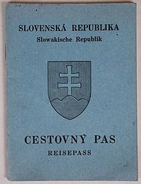 Slovak identity card wikivisually the front cover of a contemporary slovak biometric passport ccuart Images