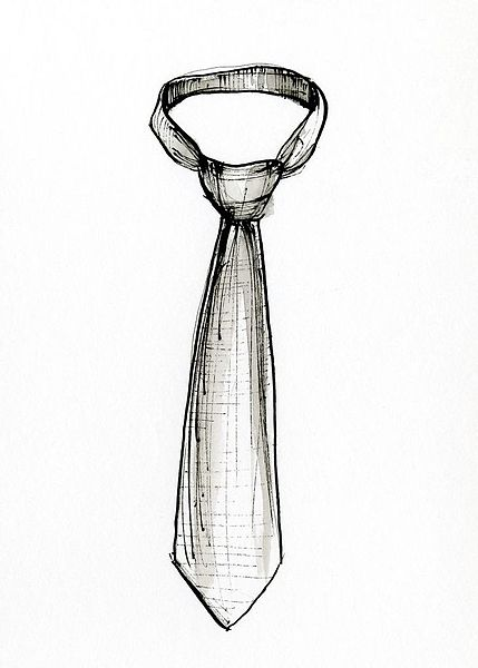 File:Necktie (drawing).jpg