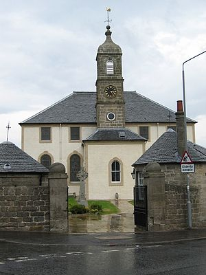 Neilston - Neilston Parish Church, known to have existed as the site of a Christian place of worship since 1163