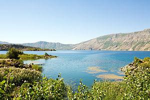 Lake Nemrut - A view from Lake Nemrut.