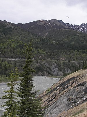 Nenana Valley - Overlook of the Nenana Valley