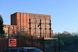 Rowntree's - A view of the Nestle production facility in York, taken in 2009