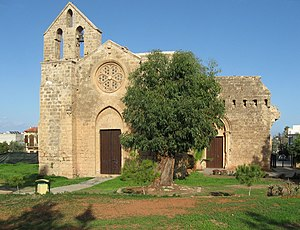 Dioceses of the Church of the East, 1318–1552 - a Nestorian church (1350) in Famagusta, Cyprus.