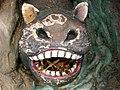Nests in critter-mouth, Haw Par Villa (Tiger Balm Theme Park), Singapore (41376850).jpg