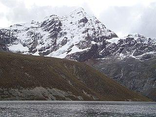 Llongote mountain in Peru