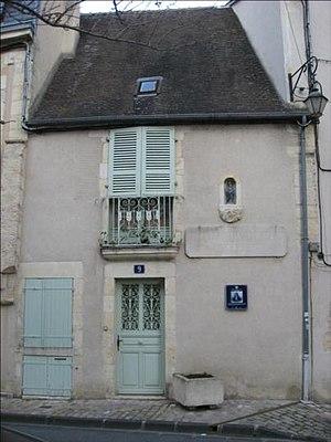 Adam Billaut - Home where Adam Billaut lived while in Nevers