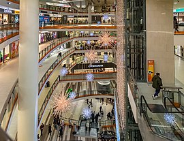 Nevsky Centre Shopping Mall in Sint Petersburg