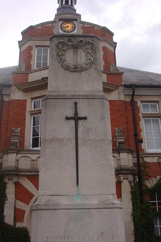 New Malden - New Malden war memorial