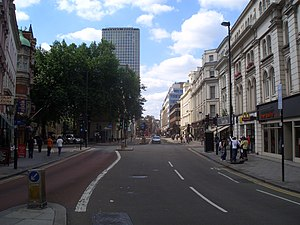 A40 road - Image: New Oxford Street 1