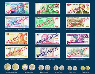 Revaluation of the Turkish lira