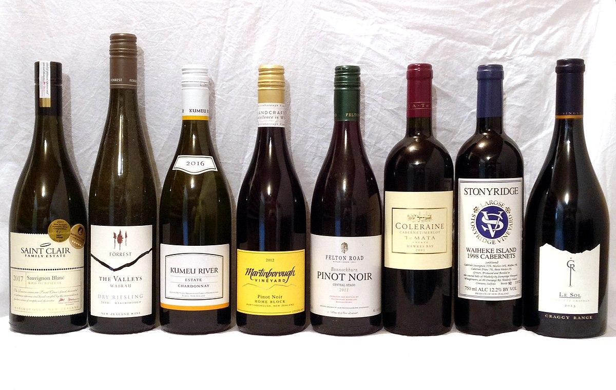 e1589f1606 New Zealand wine - Wikipedia