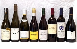 New Zealand wine Wine produced in New Zealand