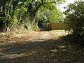 New fencing alongside bridleway near Henfield - geograph.org.uk - 1549980.jpg