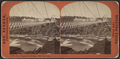 New suspension bridge 1268 feet long, by Barker, George, 1844-1894.png